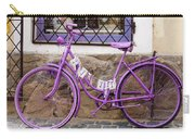 Purple Bicycle Carry-all Pouch