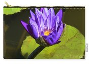 Purple Biltmore Lily  Carry-all Pouch