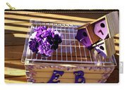 Purple Birdhouses 1 Carry-all Pouch