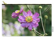 Purple Blossoms 2 Carry-all Pouch