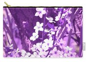Purple Blossoms Carry-all Pouch