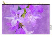 Purple Bluebells Closeup Carry-all Pouch