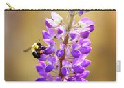 Purple Buzz Carry-all Pouch
