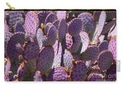 Purple Cacti Carry-all Pouch