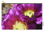 Purple Cacti Flowers Carry-all Pouch