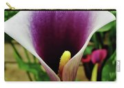 Purple - Calla Lily - Bloom Carry-all Pouch