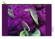Purple Cauloflower Carry-all Pouch