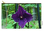 Purple Clematis Henryi Carry-all Pouch