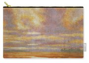 Purple Clouds On Marsh Carry-all Pouch
