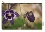 Purple Columbine Carry-all Pouch