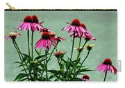 Purple Coneflower Bouquet Carry-all Pouch