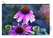Purple Coneflowers Carry-all Pouch