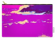 Purple Crashing Waves Carry-all Pouch