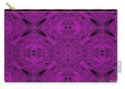 Purple Crossed Arrows Abstract Carry-all Pouch