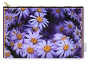 Purple Daisy Abstract Carry-all Pouch