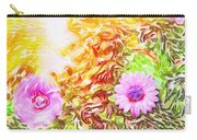 Purple Daisy Carry-all Pouch