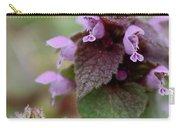 Purple Deadnettle Bloom Carry-all Pouch