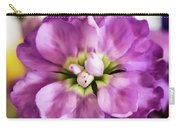 Purple Delphinium Carry-all Pouch