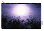 Purple Eclipse Carry-all Pouch