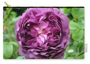 Purple English Rose Carry-all Pouch
