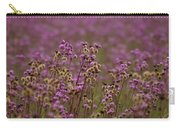 Purple Fields Carry-all Pouch