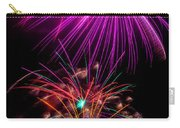 Purple Fireworks Carry-all Pouch