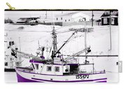 Purple Fishing Boat Carry-all Pouch