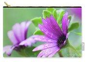 Purple Flower Closeup Carry-all Pouch