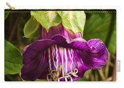 Purple Flower Of The Vine Known As Cathedral Bells Carry-all Pouch