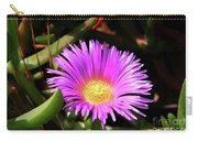 Purple Flower On California Coast Carry-all Pouch