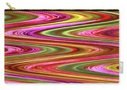 Purple Flowers Abstract Carry-all Pouch