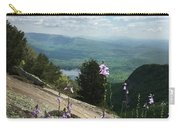 Purple Flowers At Table Rock Overlook Carry-all Pouch by Kelly Hazel