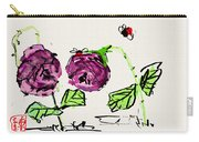 Purple  Flowers Grow Carry-all Pouch