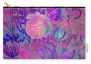 Purple Flowers Carry-all Pouch