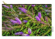 Purple Flowers Of Chiloe Carry-all Pouch