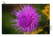 Purple Fringe Carry-all Pouch