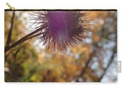 Purple Fuzzy Carry-all Pouch