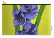 Purple Gladiolas Carry-all Pouch