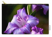 Purple Glads Carry-all Pouch