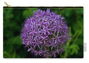 Purple Globe Thistle Carry-all Pouch