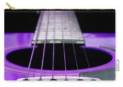 Purple Guitar 15 Carry-all Pouch