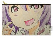 Purple Hair Carry-all Pouch