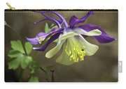 Purple Harlequin Columbine Carry-all Pouch
