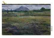 Purple Heather And Mount Errigal From Dore Co. Donegal Ireland   Carry-all Pouch