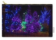 Purple Holiday Lights Carry-all Pouch