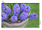 Purple Hyacinth Flowers Planter Carry-all Pouch