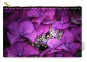 Purple Hydrangeas Carry-all Pouch