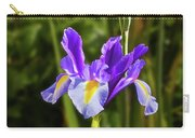 Purple Iris And Gladioli Byzantinus Carry-all Pouch