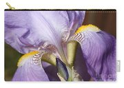 Purple Iris Beauty Carry-all Pouch