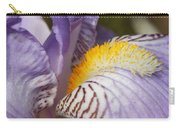Purple Iris Closeup Carry-all Pouch